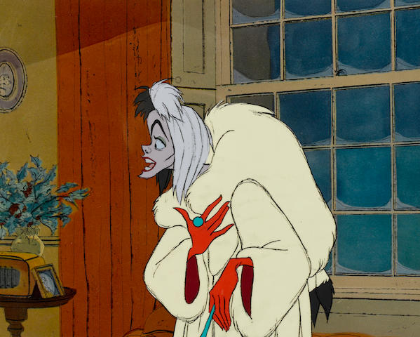 A Walt Disney Studios celluloid from One Hundred and One Dalmatians
