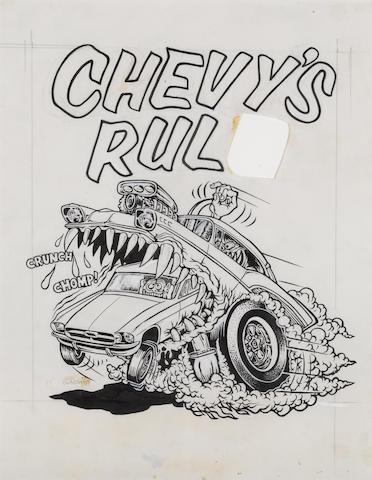 Roth Studios, 'Chevys Rul'