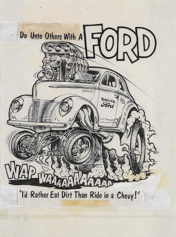 Roth Studios, 'Do unto others with a Ford'