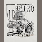 Roth Studios, 'T-bird does it with class!'