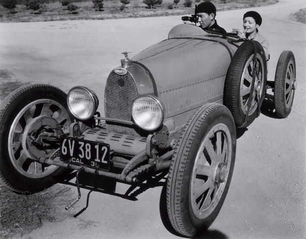 "Edward Weston, (1886-1958)/Cole Weston, (1919-2003) ""Ivanos and Bugatti."""
