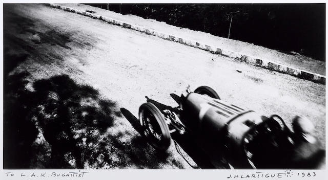 Jacques Henri Lartigue, The Bugattist,