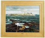 Andrew Wyeth (American, 1917-2009) Little Caldwell's Island, 1940 32 x 40in
