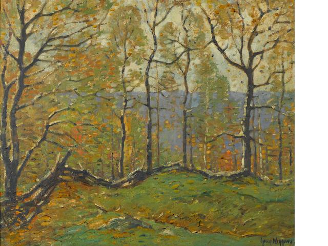 Guy Carleton Wiggins (American, 1883-1962) May Days 20 x 24in
