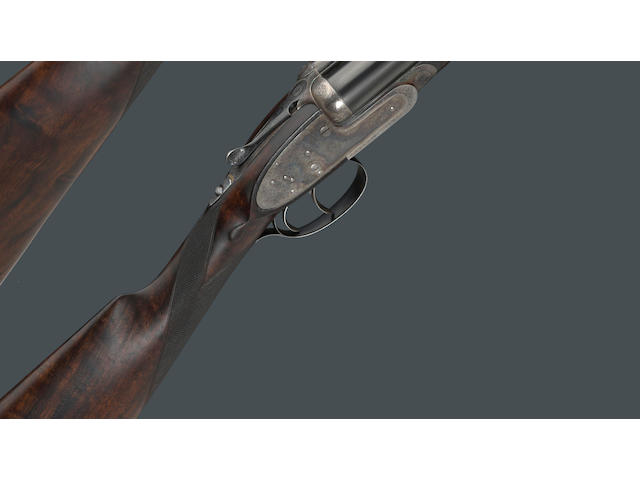 A cased pair of 12 gauge self-opening sidelock ejector guns by James Purdey & Sons