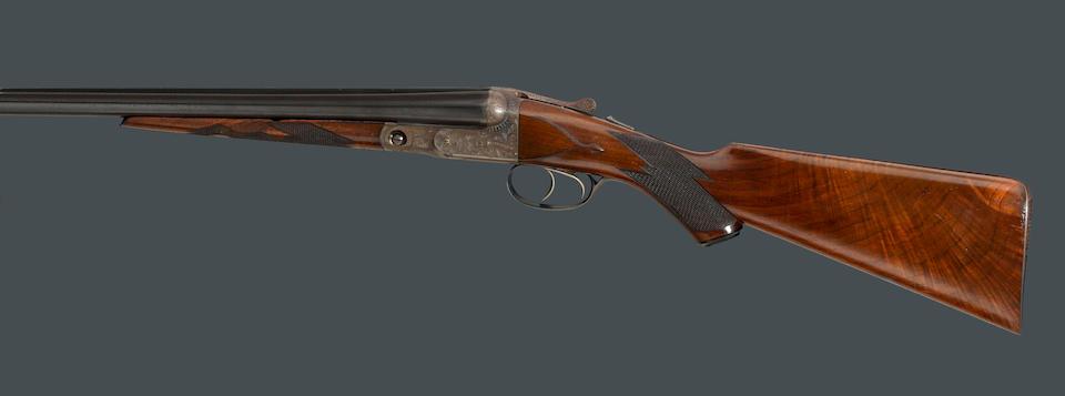 A 16 gauge DHE Grade Parker Brothers boxlock ejector shotgun