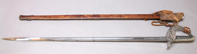 A George V Pattern 1821 cavalry officer's sword
