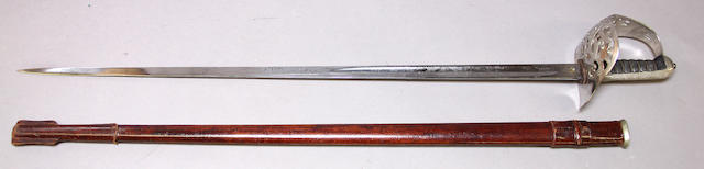 A Victorian Pattern 1895 infantry officer's sword by Gardiner & Company