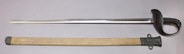 A fine U.S. Model 1913 Patton cavalry sword