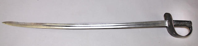 A British Pattern 1890 cavalry trooper's saber by Wilkinson