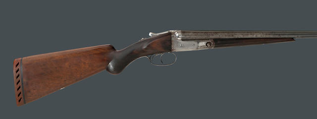 A 20 gauge Parker Brothers VHE Grade boxlock shotgun with hang tag and factory letter