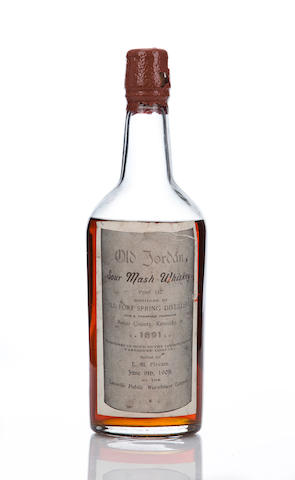 Old Jordan- Sour Mash Whiskey