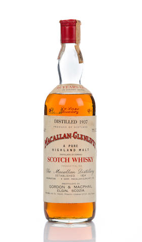 Macallan-Glenlivet 1937- 35 year old