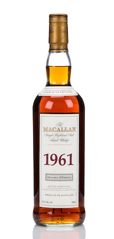 Macallan Fine & Rare 1961- 40 year old