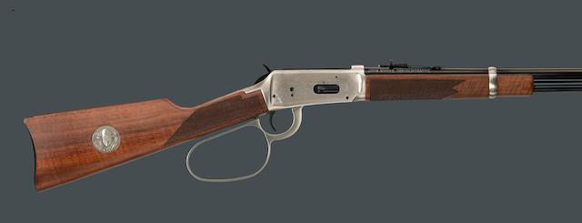 A boxed Winchester John Wayne commemorative Model 94 carbine