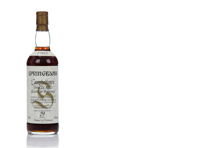 Springbank 1962- 29 year old