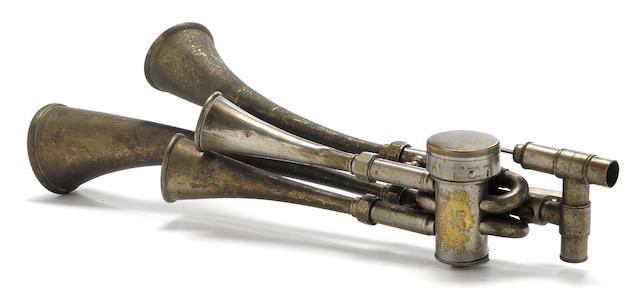 A Cicca testaphone, c.1910,