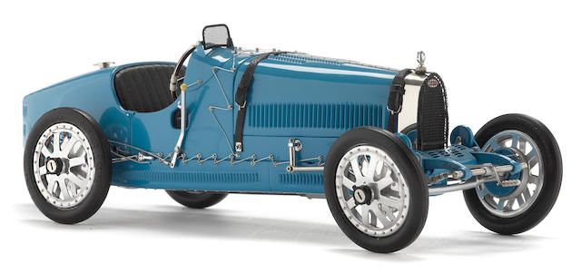 A 1:18 Scale 1924 Bugatti Type 35 Diecast Model Car by CMC,