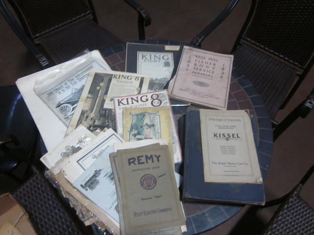 A lot of miscellaneous literature and early advertising,