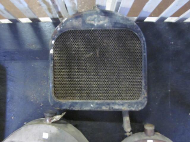 A Chevrolet radiator, c.20s