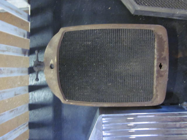 A 1920s Paige radiator,