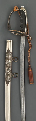 A deluxe presentation U.S. Model 1902 saber for all officers