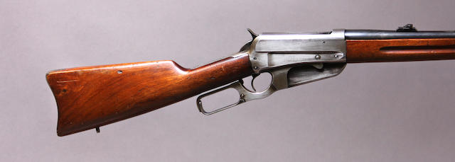 A Winchester Model 1895 saddle ring carbine