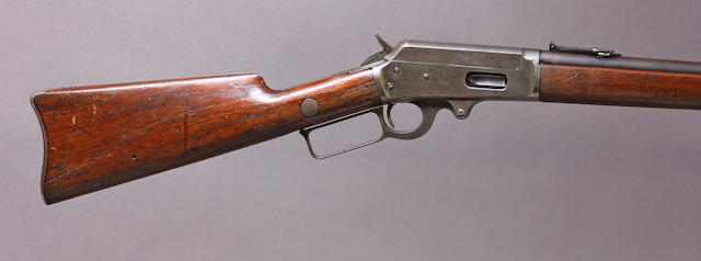 A Marlin Model 1893 saddle ring carbine