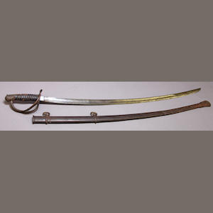 A U.S. Model 1860 cavalry saber by Ames Mfg. Co.