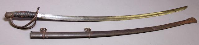 A U.S. Model 1860 cavalry saber by Ames Mfg. Co.