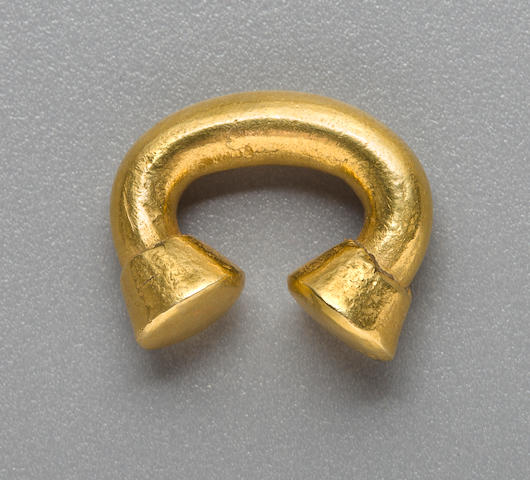 Sinú Nose Ornament,<BR />ca. A.D. 1000 - 1500