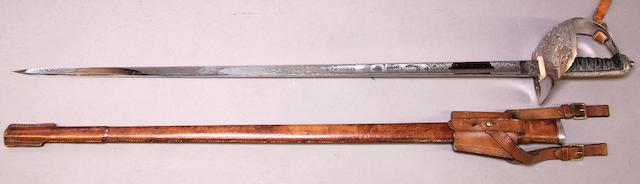 A George V Pattern 1897 infantry officer's sword