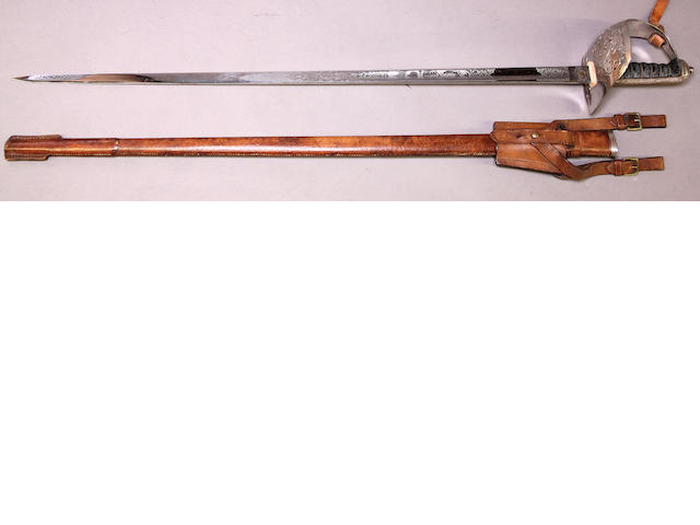 A George V Pattern 1897 infantry officer's sword