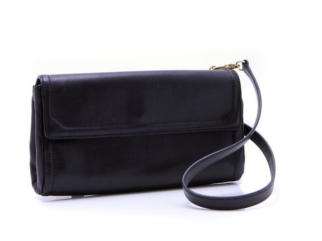 A Fratelli Rossetti black pochette bag