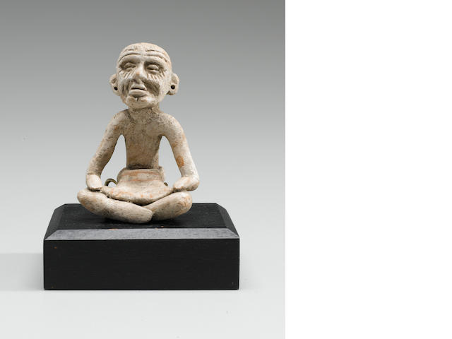 Teotihuacan Seated Figure,<BR />Early Classic, ca. A.D. 300 - 600