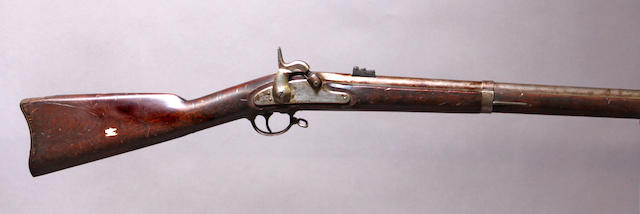 A U.S. Model 1861 contract percussion rifle-musket by Savage R.F.A. Company