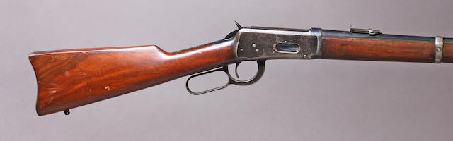 A Winchester Model 1894 saddle ring carbine