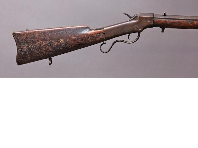 A Ballard breechloading carbine by Ball & Williams