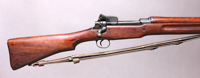 A U.S. Model 1917 Eddystone bolt action rifle