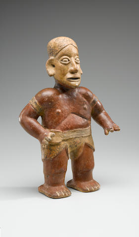 Jalisco Standing Figure,<BR />Protoclassic, ca. 100 B.C. - A.D. 250