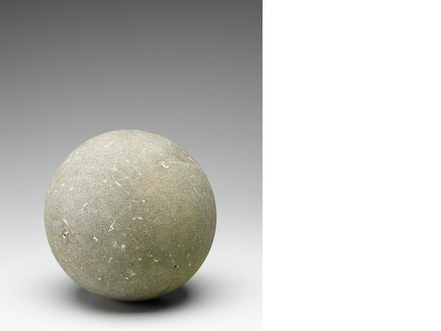 Rare Stone Exercise Ball, Hawaiian Islands