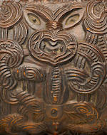 Important and Rare Maori Feather Box, New Zealand
