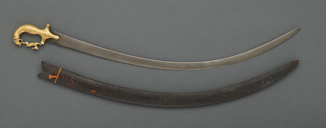 An Indian saber