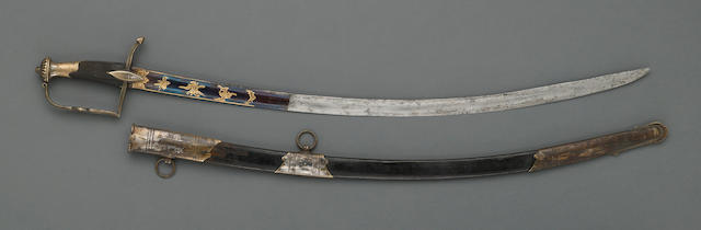 A French officer's saber