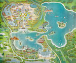 A Walt Disney World concept map