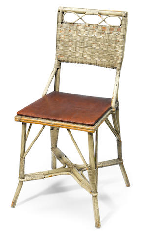 A wicker chair from Rick's Café in Casablanca