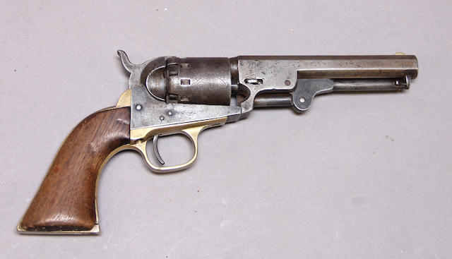 A Manhattan Series II .36 caliber percussion pocket revolver