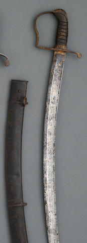 A Federal Period officer's saber retailed by B.& J. Cooper of New York