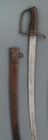 An early Federal Period infantry officer's saber