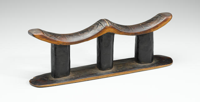 Kuba Double Headrest, Democratic Republic of the Congo